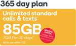 Kogan Small 365-Day Plan $152.10 - Increased Data from 3GB to 7GB Per 30 Days @ Kogan Mobile