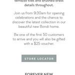 [NSW] $25 Voucher (First 50 Customers) @ Forever New Bondi Junction (Thurs 11/07, from 9:30am)