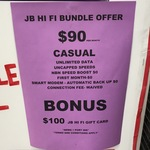 $90p/m Telstra NBN50, Smart Modem Gen 2, First Month Free and $100 JB Hi-Fi Gift Card @ JB Hi-Fi