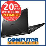 "ASUS 15.6"" Laptop (Ryzen 5 3550H GTX1650 8GB RAM 512GB SSD) $1023.20 + $15 Delivery ($0 with eBay Plus) @ Computer Alliance eBay"