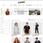 $25 off Order with Full Price Product (Min Spend $100) + $9.95 Delivery (Free with $79 Spend) @ Elwood