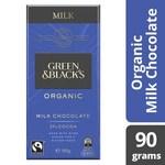 Green & Blacks Organic Milk/Dark Chocolate 90gm $2.12 (Half Price) at Coles