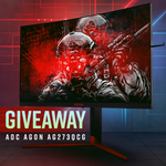 Win an AOC AGON QHD G-Sync Gaming Monitor Worth $899 from PC Case Gear