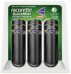 Nicorette Quickmist Triple Spray (3x 150 Sprays) $45.58 + Delivery (Free with eBay Plus) @ Chemist Warehouse eBay