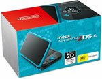 New Nintendo 2DS XL Console Black Blue $99 Delivered @ Amazon AU