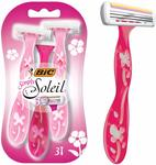 BIC Simply Soleil Disposable Women's Razors 3pk $1.77 (Min Order 3 Units) + Delivery ($0 with Prime/ $39 Spend) @ Amazon AU