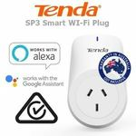Tenda SP3 Smart Wi-Fi Plug $9.98 + Delivery ($0 with eBay Plus) @ Shopping Square eBay