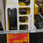 Bauhn Universal Travel Power Socket Adaptor Kit $9.99 (Was $19.99, Limited Stock) @ ALDI