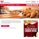 10 Tenders for $10 @ KFC