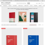 All 2020 Diaries $5 + Delivery (Free over $69 Spend) @ Milligram