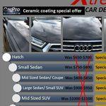 [VIC] Melbourne Xtreme Car Detailing - 10% Discount on Carpro Cquartz Ceramic Coating Paint Protection