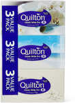 Quilton 3 Ply Tissues 3 Pack Classic White $3 @ Big W (WA/TAS C&C Available; Other States In Selected Stores Only)