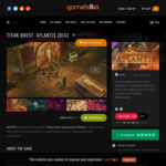 [PC] Steam - Titan Quest: Atlantis DLC $5.68 AUD/Yakuza Kiwami 2 ~$19.67 AUD/Shenmue I+II ~$10.06 AUD - Gamebillet