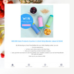 Win a Nutri Ninja Blender Worth $349 & $150 Voucher from Subo Products Australia