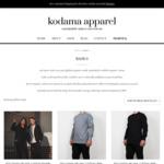 10% off Certified Organic Cotton T-Shirts $53 + Free Shipping | Melbourne Based Streetwear Brand @ Kodama Apparel