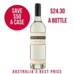 Save $50 a Case on SHAW & SMITH 2019 Sauvignon Blanc 12 Bottles $291.60 ($24.30 a Bottle) @ WINENUTT
