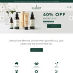 40% off Sukin Skin/Hair/Body Care (except Hand Sanitiser) + $7.95 Shipping (Free on Orders > $50) @ Sukin