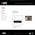 Blend Bundle (250g x 3) $22 Pick-up or $9.90 Delivery (Free > $100 Purchase) @ Cisco's World of Coffee