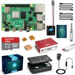Raspberry Pi 4 Complete Starter Kit with Pi 4 Model B 4GB RAM / 32GB MicroSD Card $127.49 Delivered @ Globmall AU Amazon
