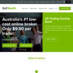 SelfWealth $9.50 Brokerage Per Trade ASX HIN Support CHESS-Sponsored