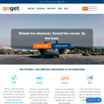 25% off Bookings @ GoGet Carshare