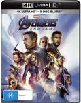 Avengers: Endgame (4K Ultra HD + Blu-Ray) - 2 for $20 Delivered @ Amazon AU