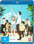 A Silent Voice (Blu-Ray) $13 + Delivery ($0 with Prime/ $39 Spend) @ Amazon AU