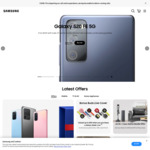 $300 off Samsung Galaxy S20/ FE / Note20/ Phones (for Existing Samsung Users) @ Samsung Studio Stores