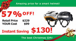 Airwheel C5+ Smart Bicycle Helmet with Built-in Camera and Bluetooth $99 (57% off) Delivered @ Hasinnoaustralia eBay