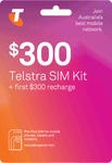 Telstra $300 Pre-Paid SIM Starter Kit for $239.99 Delivered @ Cellmate