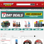 30% off Diesel Engine Oils @ Supercheap Auto