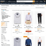 Up to 85% off Select Calvin Klein & Van Heusen Clothing + Delivery ($0 with Prime/ $39 Spend) @ Amazon AU