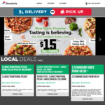 3 Large Traditional or Plant Based Pizzas $27 Delivered @ Domino's