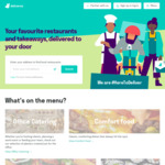 $10 off $25 Spend @ Deliveroo