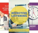 [eBooks] 9 Free: Effective Listening, Public Speaking, Time Management, Emotional Intelligence, Interviewing and Hiring @ Amazon