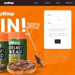 Win 12 Jars of Hazelnut Spread from Nuttvia