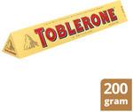 ½ Price Toblerone 200g $2.50 ($1.25/100g) @ Coles