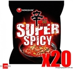 [NSW, VIC] 20x 120g Nongshim Shin Ramen Red Super Spicy (Made in Korea) $19.95 Delivered to SYD or MEL Metro @ Shopping Square