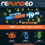 App-Based Simple Tax Return - Free to Use, $19.95 to Lodge @ Refunded
