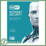 ESET Internet Security (Digital Key): 3 Devices 1 Year $5.99, 5 Devices 1 Year $9.99 @ Shallothead eBay