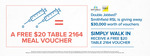 [NSW] Double Vaccinated Customers Receive A Free $20 Table 2164 Voucher @ Smithfield RSL