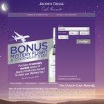 Bonus Mystery Flight & Overnight Stay When You Buy 6 Bottles of Jacobs Creek Cool Harvest