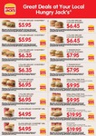 Hungry Jacks Vouchers for Tasmania + Other States