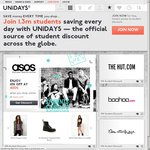 THE ICONIC 20% for UNiDAYS Members