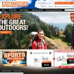 Anaconda - 25% off Store Wide - Ends Monday 11th March