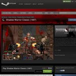FREE Shadow Warrior Classic on Steam