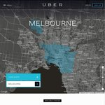 Uber Limo Rides: up to $40 off SYD+MEL [New Users] & 2x $40 to/from Hotel Sofitel MEL [New+Existing]