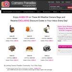 $56 off for Caden All-Weather Camera Backpacks / Shoulder Bags @ Camera Paradise