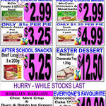 $3.99 1L Rum and Raisin Ice Cream @ Sara Lee Outlet Stores [NSW/QLD] + More