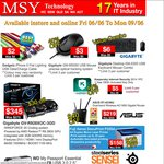 MSY Long Weekend Sale: Gigabyte R9 280X $345, Gigabyte USB Mouse $3 + Other Deals